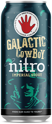 Left Hand Nitro Galactic Cowboy Imperial Stout 4Pk