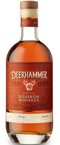 Deerhammer Straight Bourbon Whiskey 750ml