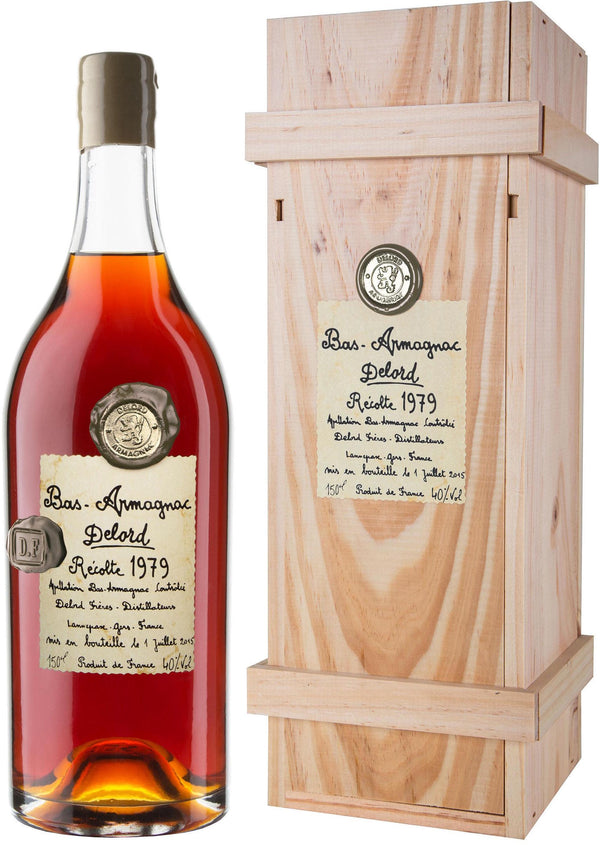 Delord Bas Armagnac Cask Strength 1979 750ml