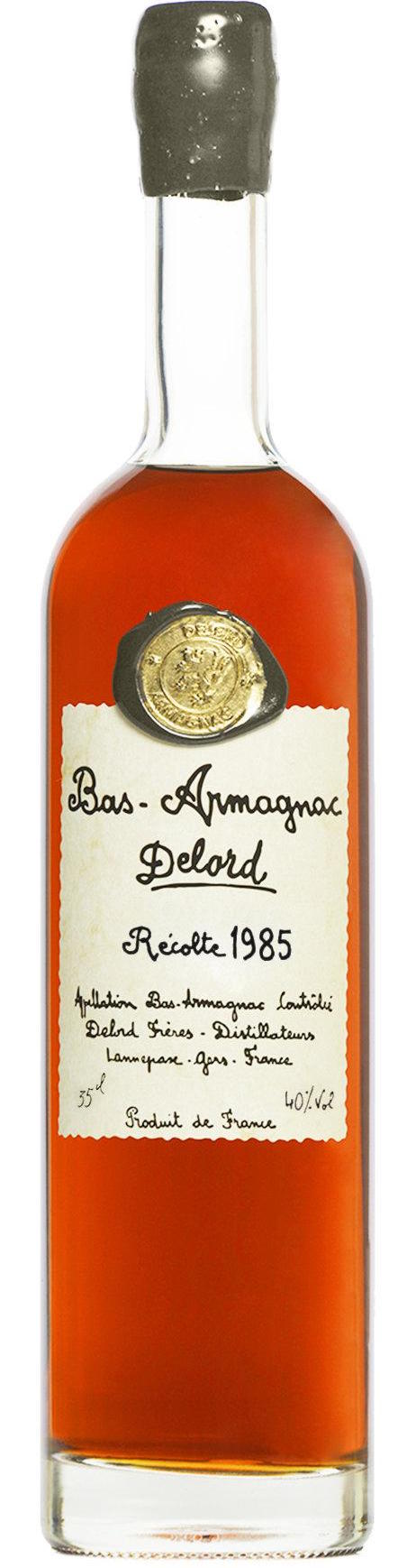 Delord Bas Armagnac Cask Strength 1985 750ml