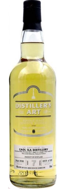 Distiller's Art Caol Ila Single Malt Scotch Whiskey 2010 7yr 750ml