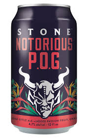 Stone Notorious POG Berliner Weisse 19.2oz Can