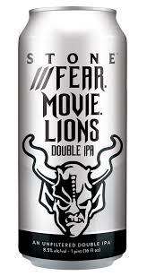 Stone Fear Movie Lions Hazy DIPA 16oz Can
