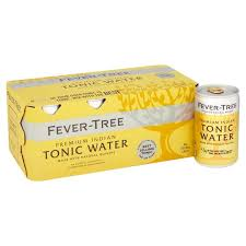 Fever-Tree Tonic Water 8pk 150ml Cans