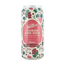 The Bruery Goses are Red Syrah Sour 16oz Can
