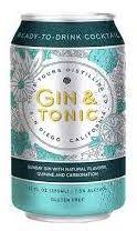 You & Yours Gin & Tonic 355ml