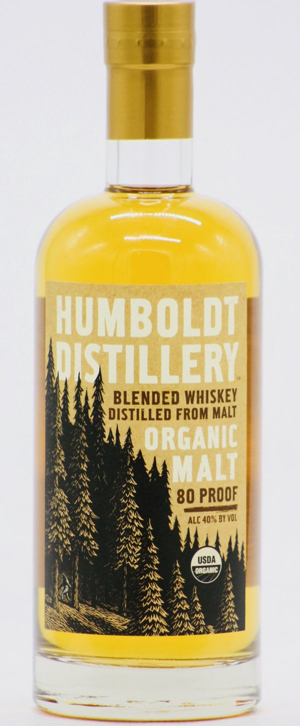 Humboldt Organic Malt Whiskey 750ml