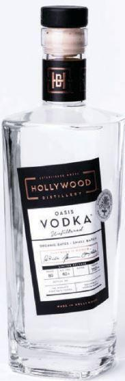 Hollywood Oasis Date Vodka 750ml