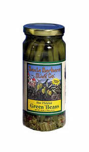 SBO Hot Pickled Green Beans 16oz