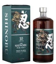 The Shinobu Pure Malt Whisky 10Yr 750ml