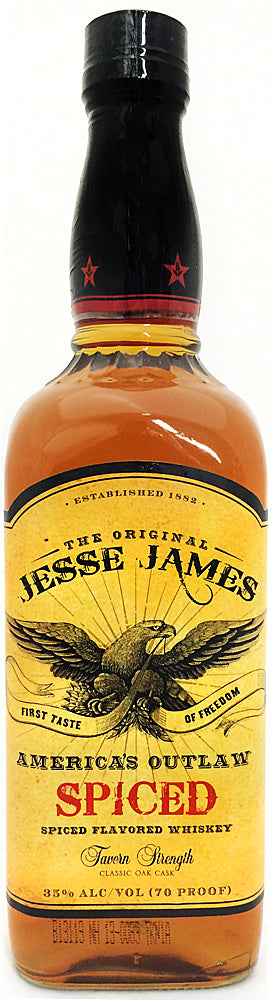 Jesse James Spiced Flavored Whiskey 750ml