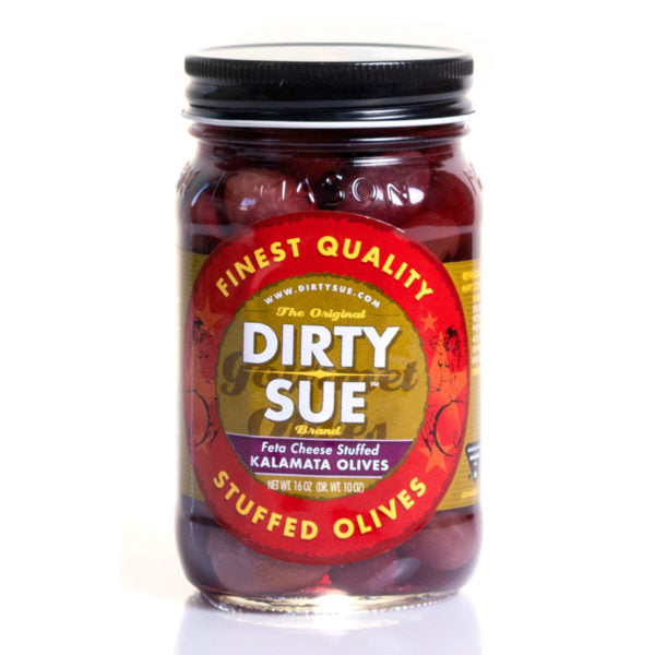 Dirty Sue Feta Stuffed Kalamata Olives 16oz