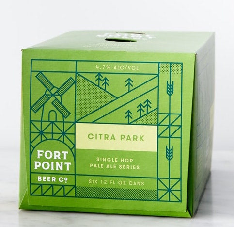 Fort Point Citra Park 6pk Can
