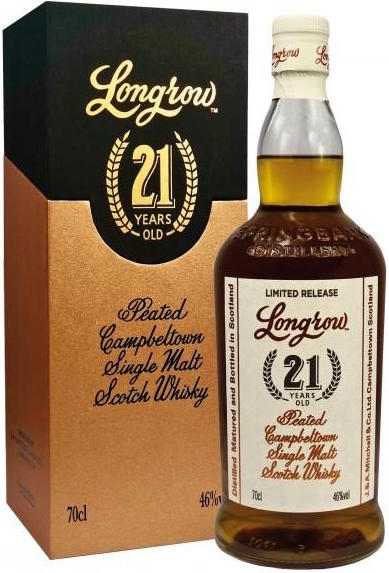 Longrow Single Malt 21 Year Old 750ml