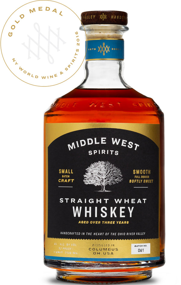 Middle West Wheat Whiskey 750ml