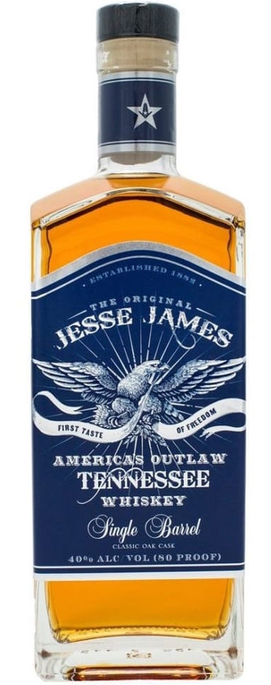 Jesse James Single Barrel Whiskey 750ml