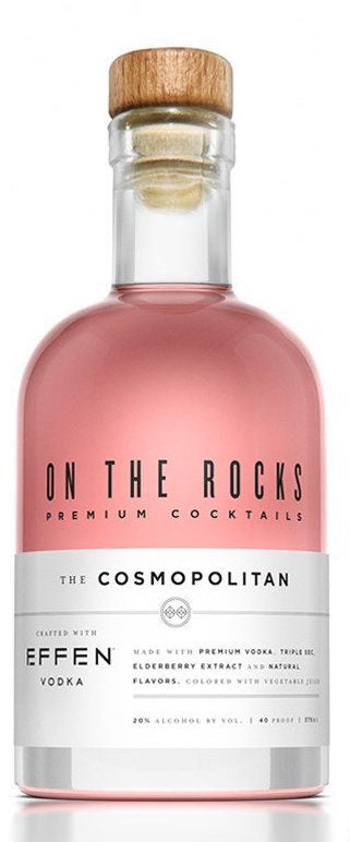 On The Rocks Effen The Cosmopolitan 375ml