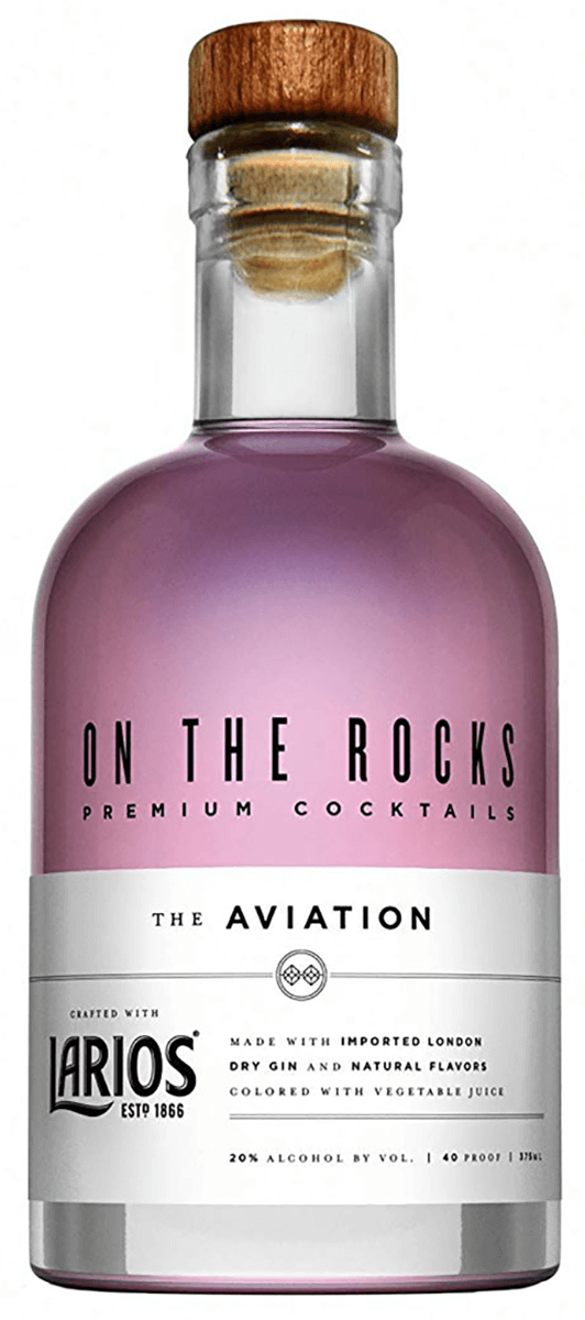 On The Rocks Larios The Aviation 375ml