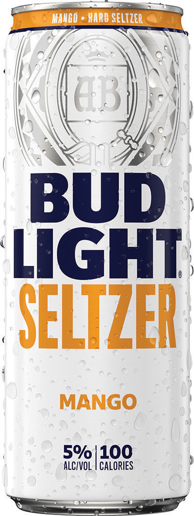 Bud Light Mango Seltzer 25oz can