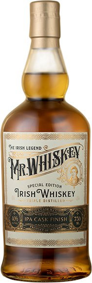 Mr. Whiskey Irish Whiskey IPA Cask Finish 750ml