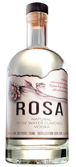 Rosa Rose Water Flavored Vodka 750ml