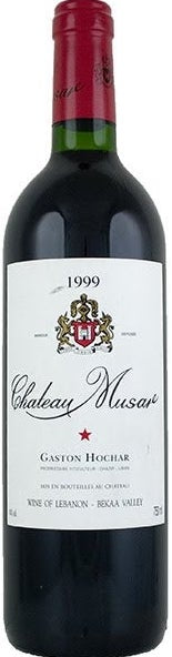 Chateau Musar by Gaston Hochar 1999 375ml