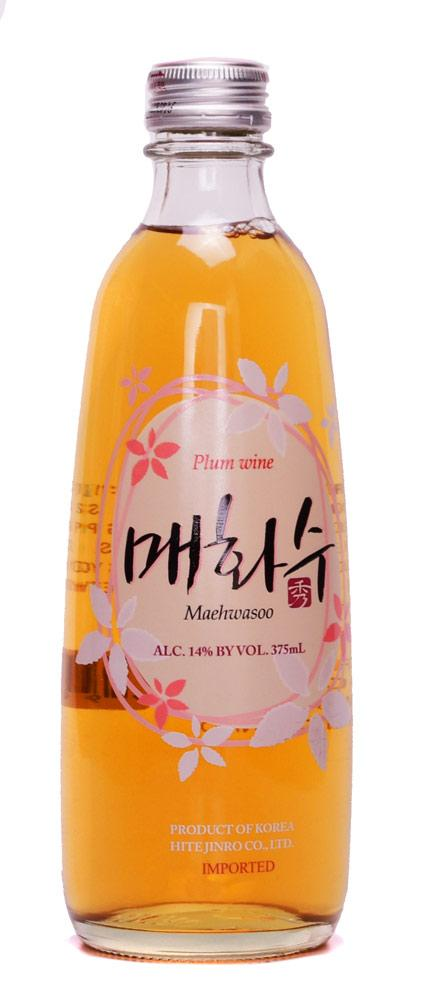 Jinro Maehwasoo Plum Wine 375ml