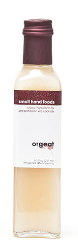 Small Hand Foods Orgeat Syrup 8.5oz