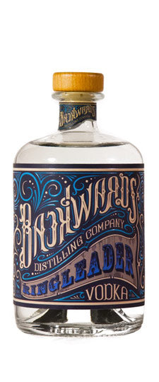 Backwards Distilling Ringleader Vodka 750ml
