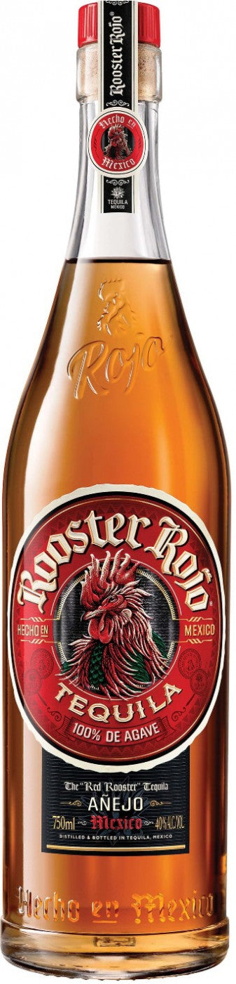 Rooster Rojo Tequila Anejo 750ml