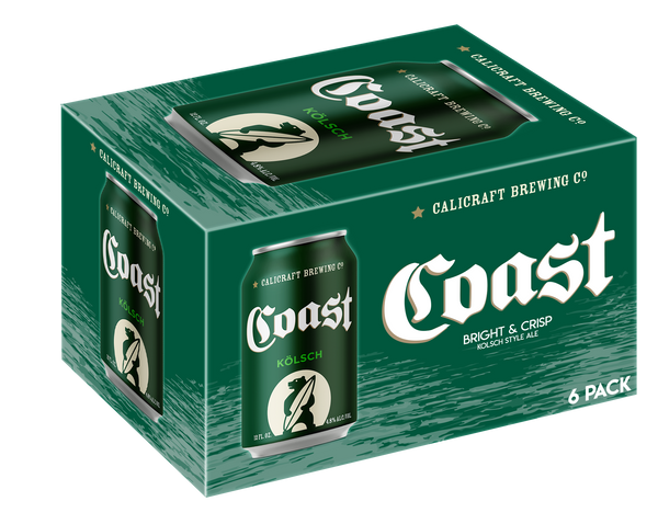 Calicraft Brewing Coast Kolsch 6pk Cans
