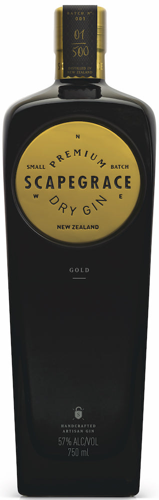 Scapegrace Gold Gin 750ml