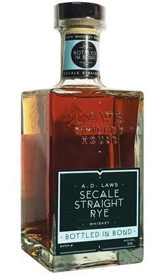 A.D. Laws Secale Bonded Straight Rye Whiskey 750ml