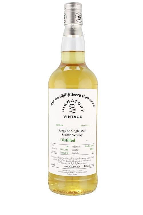 Signatory Caol Ila 2008 10 Year Old Single Barrel Single Malt Whisky 750ml