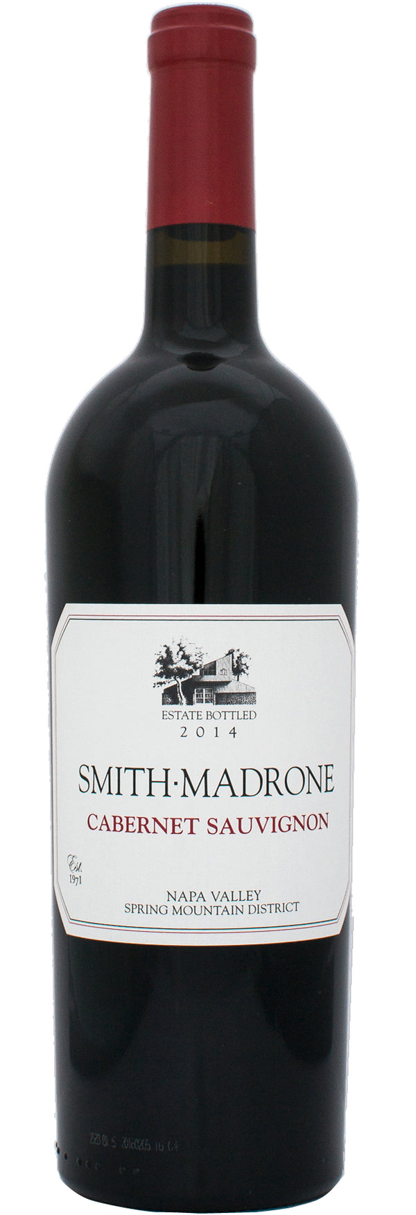 Smith Madrone Cabernet Sauvignon 2014 750ml
