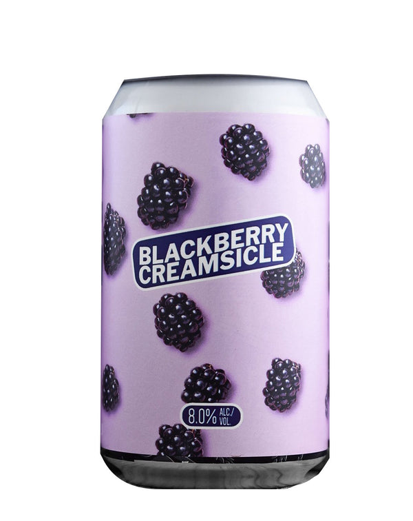 Temblor Blackberry Creamsicle 12oz can