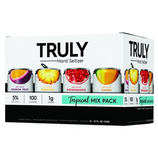 Truly Tropical Variety Pack 12pk Cans