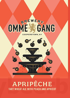Ommegang Apripeche 4pk Cans