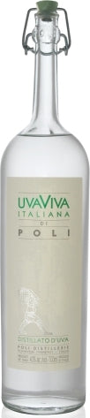 Poli Uvaviva Italiana Grape Brandy 750ml