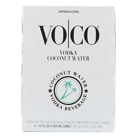 VoCo Coconut Water Vodka 4pk