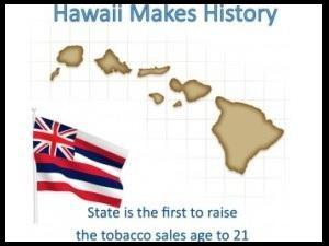 Hawaii Raises Smoking Age to 21 as Vaping Gains Popularity