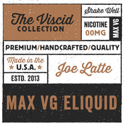 Joe Latte eLiquid The Viscid Collection | Rasta Vapors