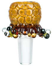 Beehive Glass Bowl | Rasta Vapors