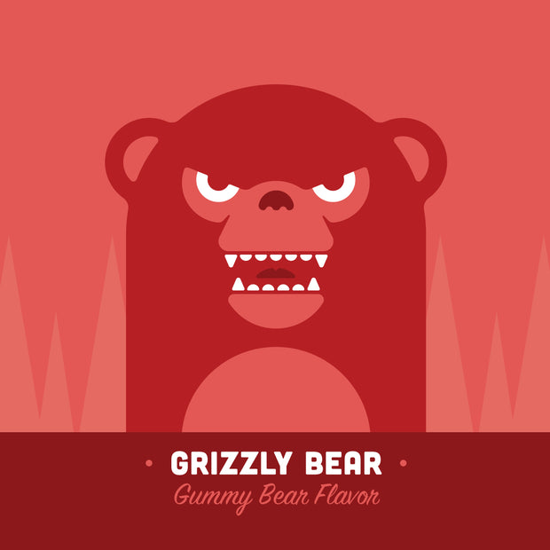 Grizzly Bear Premium eLiquid | Rasta Vapors