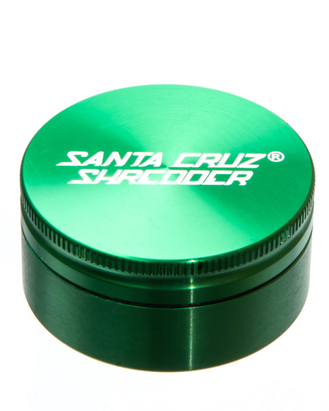 Santa Cruz Shredder - Medium 2 Piece Herb Grinder | Rasta Vapors