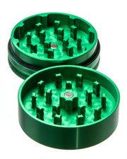 Medium 2 Piece Herb Grinder | Rasta Vapors