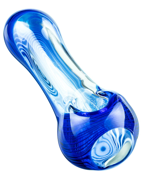 Blue Water Droplet Pipe | Rasta Vapors