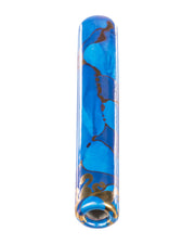 Golden Sun Chillum Blue | Rasta Vapors