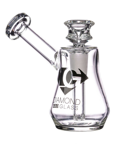 Diamond Glass Naturally Aspirated Gavel Bubbler
