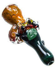 Honeycomb Chillum | Rasta Vapors